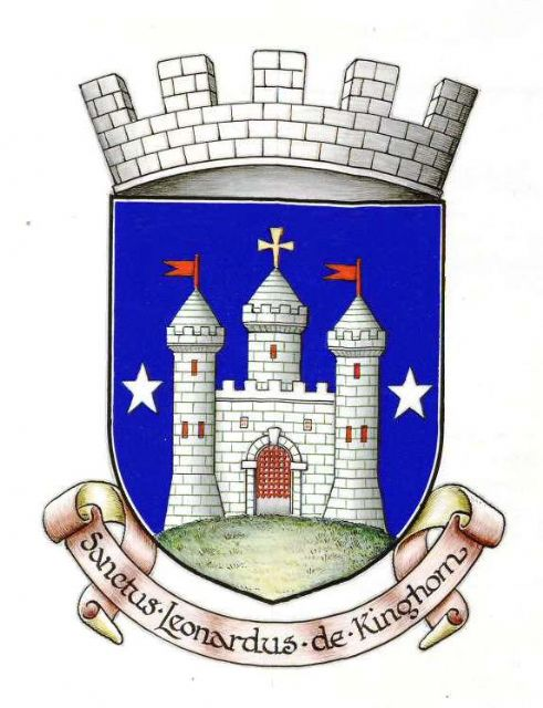 The Arms of the Royal Burgh of Kinghorn registered on 3rd July 1929. Image Courtesy of the Court of the Lord Lyon. Copyright.